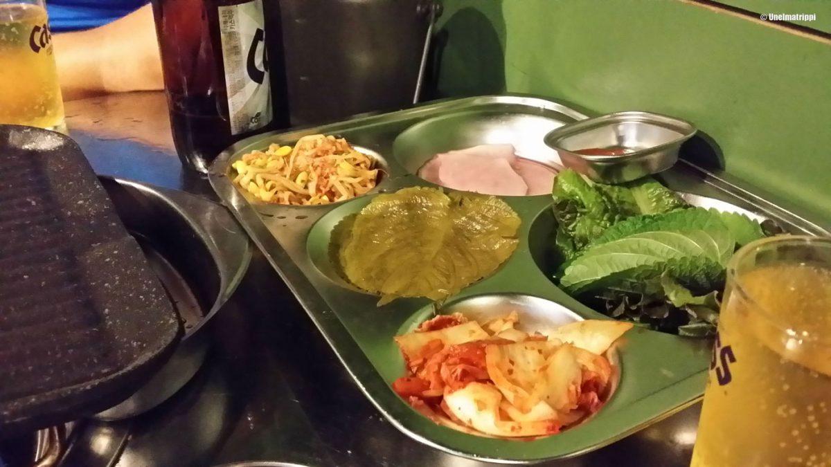 Busanissa illallisella, Etelä-Korea