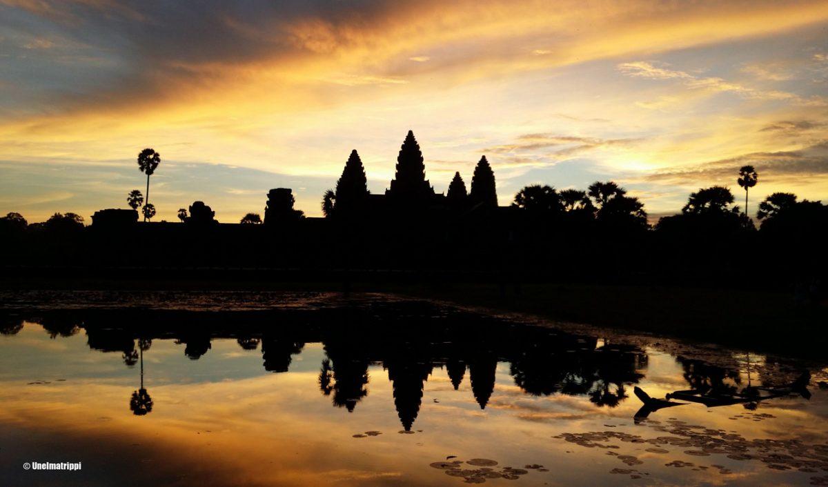 Kolme päivää Angkorin temppeleillä