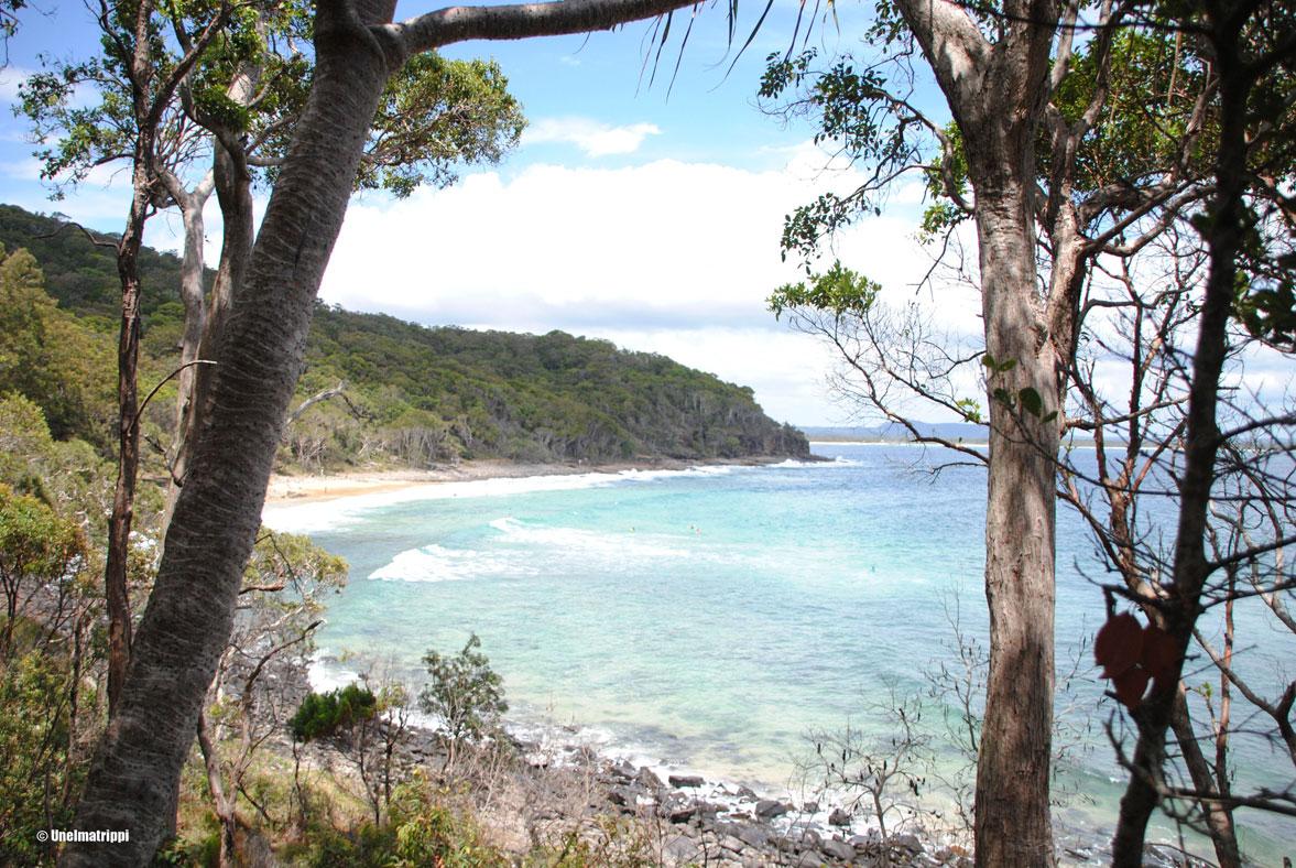 Autolla Australiassa: Noosan kansallispuistossa