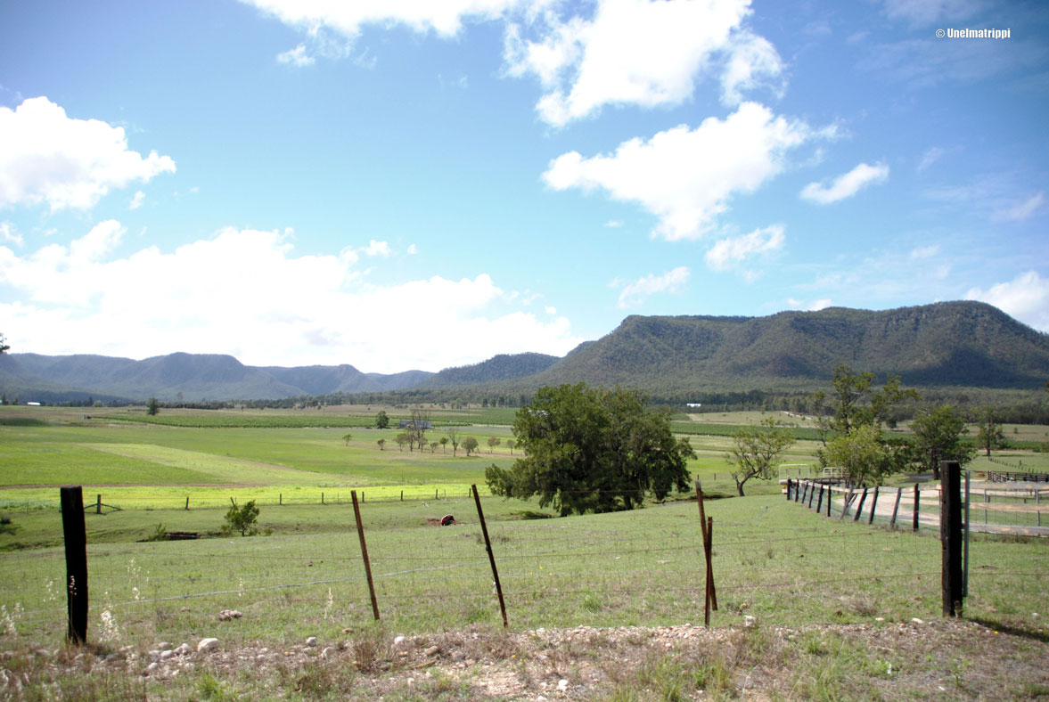Australia: Hunter Valleyn viinitiloilla