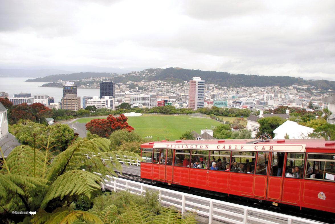 Artikkelikuva - Köysirata Kelburnin näköalapaikalle, Wellington, Uusi-Seelanti