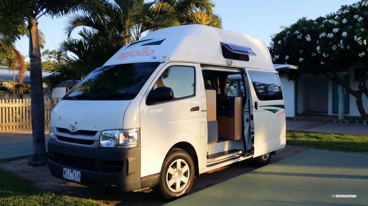 Kokemuksia auton vuokraamisesta Australiassa ja Uudessa-Seelannissa