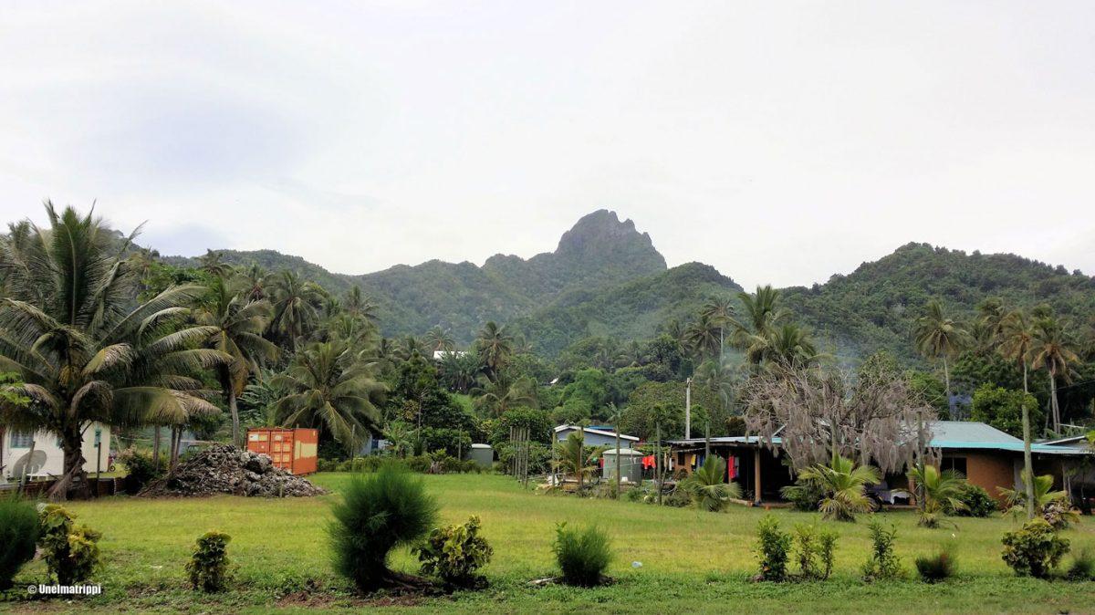 Cookinsaaret, maisema