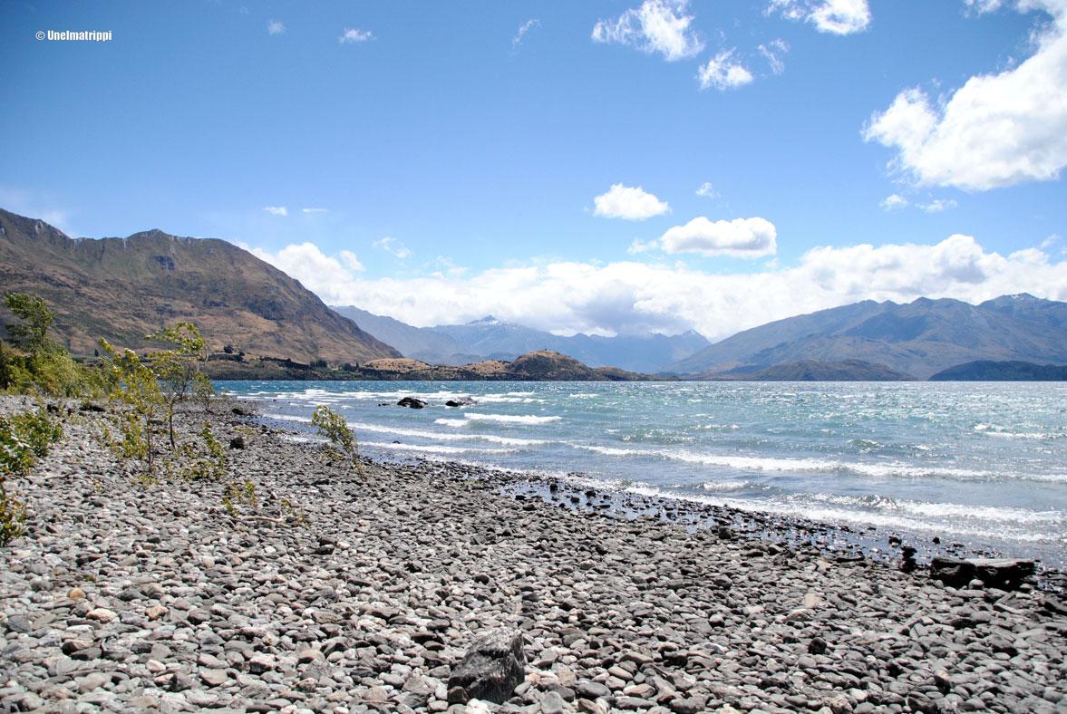 Autolla Uudessa-Seelannissa: Queenstownista Wanakaan ja Fox Glacierille