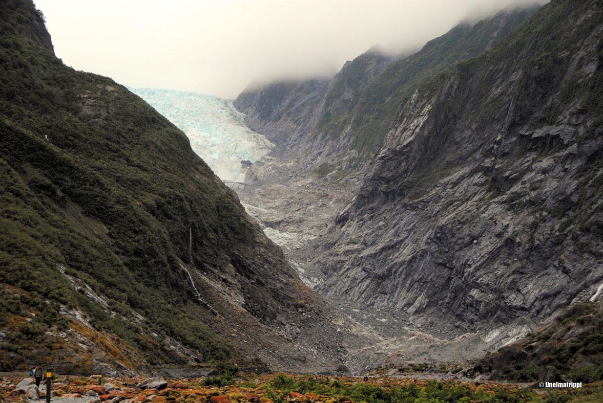 Autolla Uudessa-Seelannissa: sateiselta jäätiköltä aurinkoiselle Nelsonin alueelle