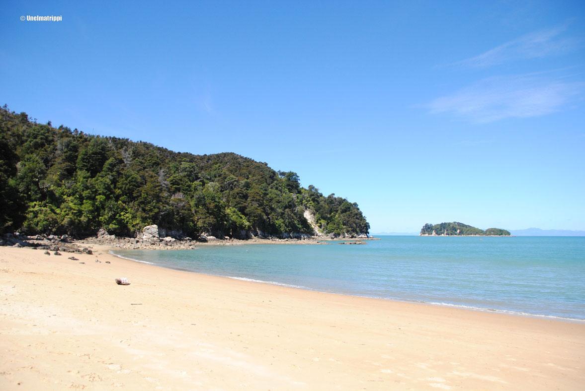Autolla Uudessa-Seelannissa: suppausta Kaiteriterissä ja kalastusta Nelsonissa