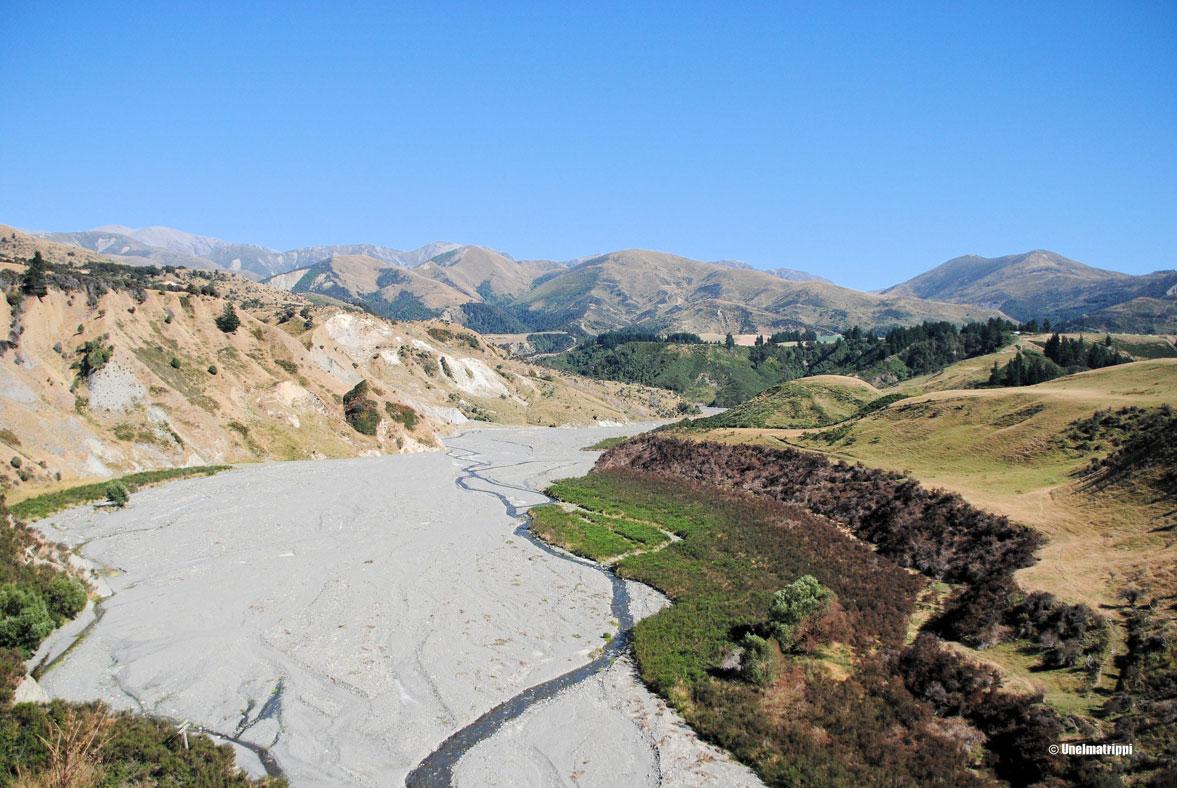 Autolla Uudessa-Seelannissa: Hanmer Springsin kuumissa lähteissä