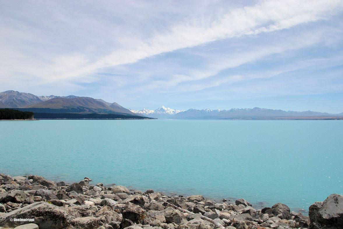 Artikkelikuva - Lake Pukaki, Uusi-Seelanti