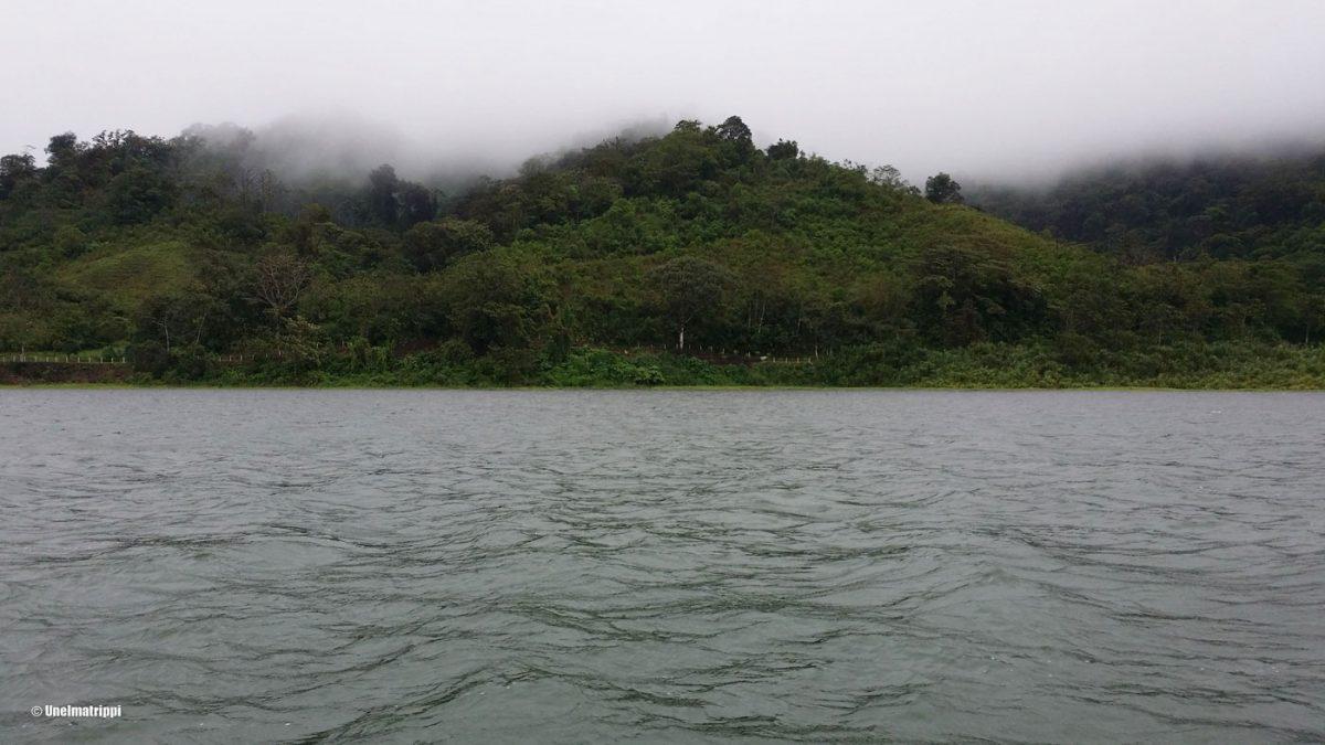 Sateinen aamu Costa Ricassa