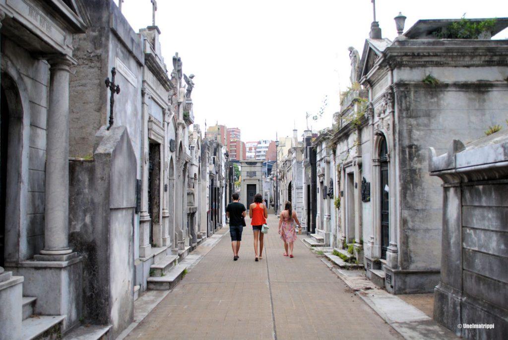Recoletan hautausmaa, Buenos Aires