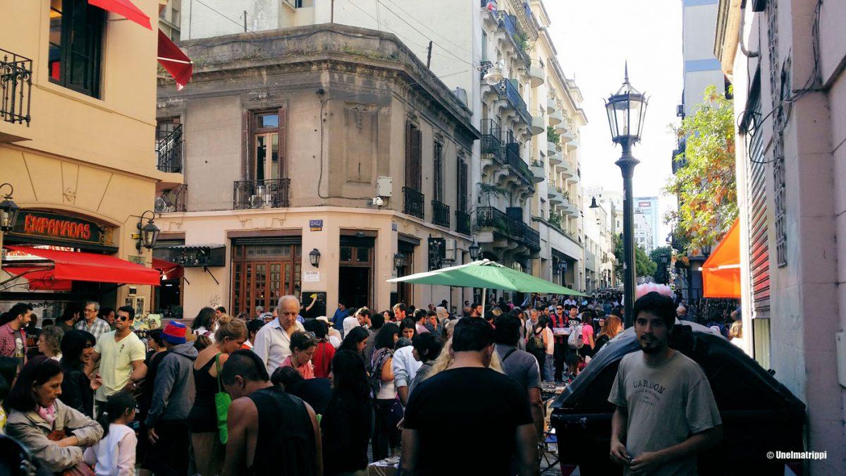 Pari päivää Buenos Airesin San Telmossa