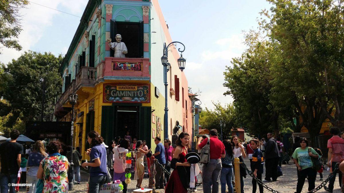 Puukkohippaset ja taidetta Buenos Airesissa