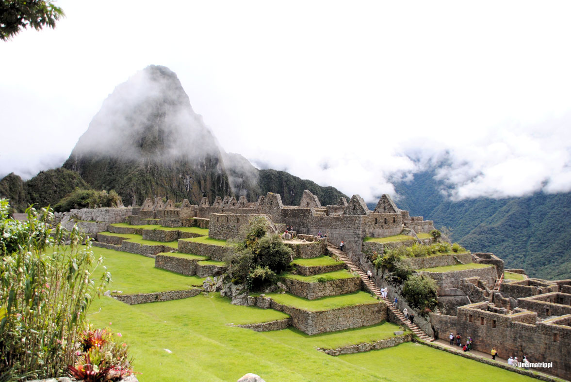 Machu Picchun raunioilla