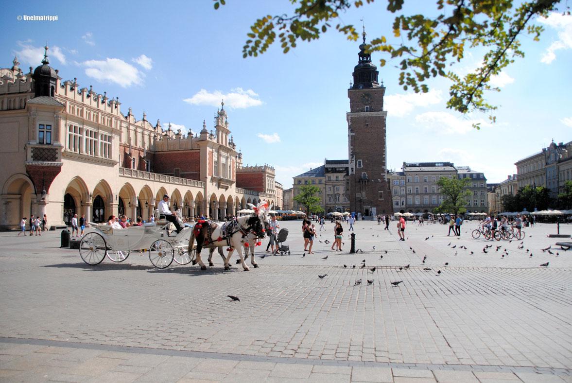 Kaupunkilomalla Krakovassa