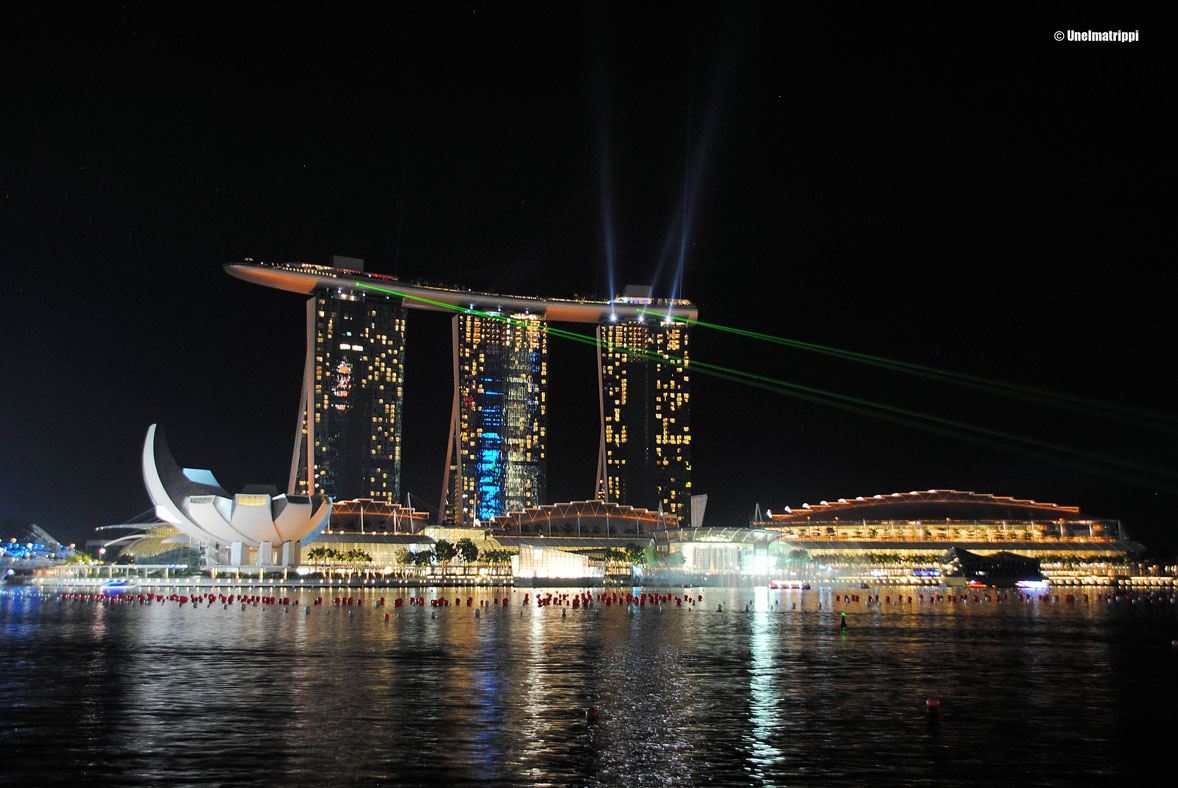 Marina Bay Sands, Light and Water Show, Singapore