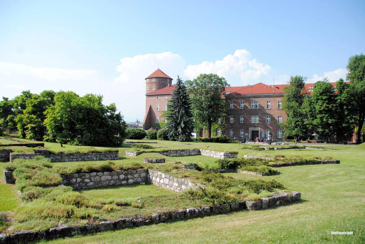 Wawelin linnan pihalla
