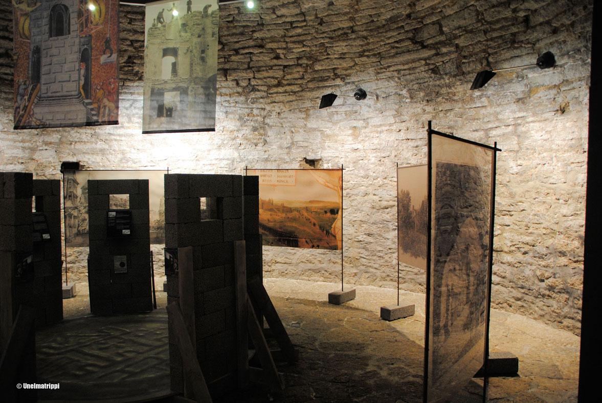 Kierros bastionin tunneleissa ja Kiek in de kökin museo