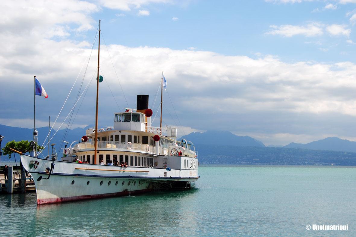 Artikkelikuva - Lausanne-järven maisemia Sveitsissä