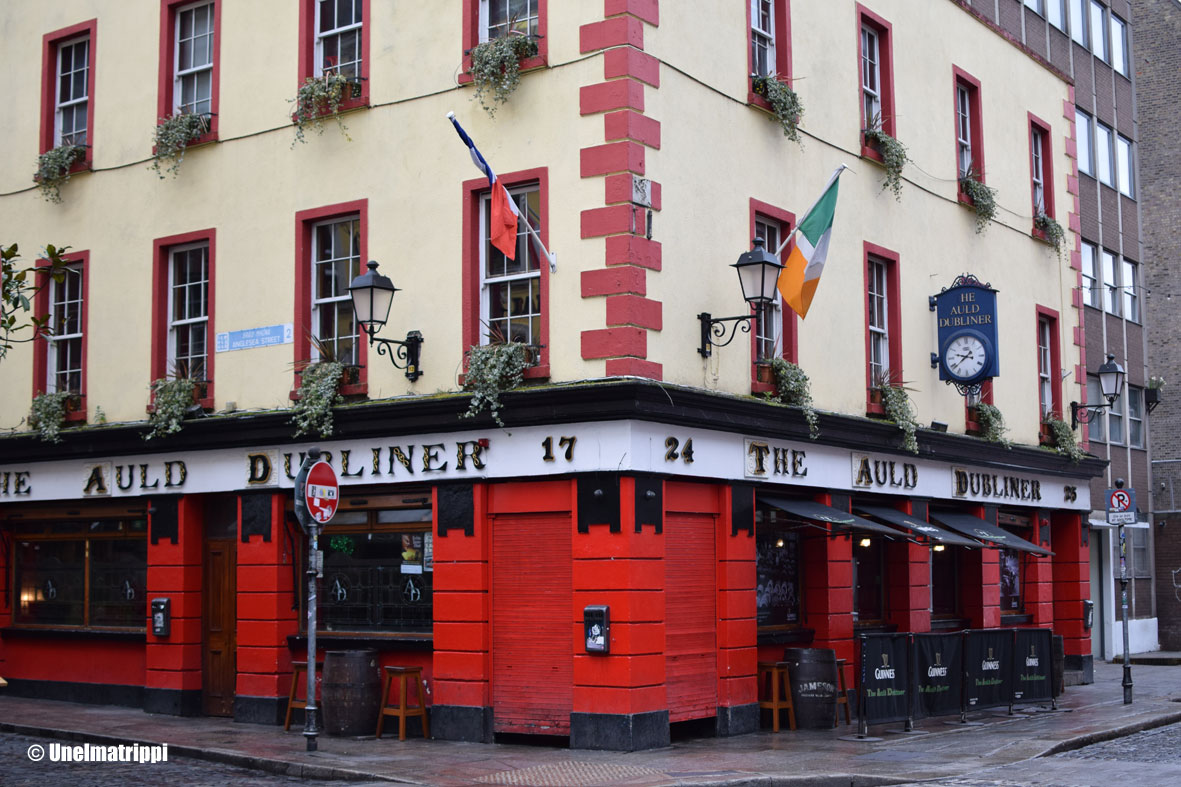 Artikkelikuva - Dublinin katunäkymää
