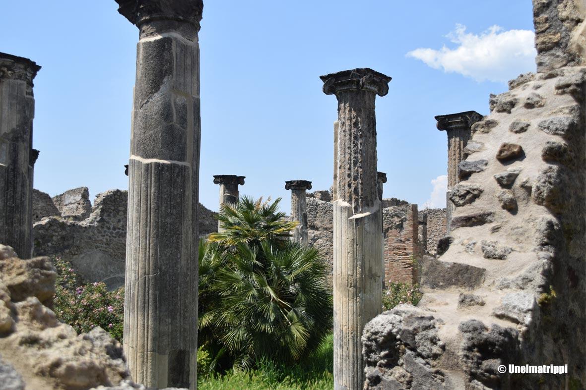 Tulivuoren hautaama Pompeiji