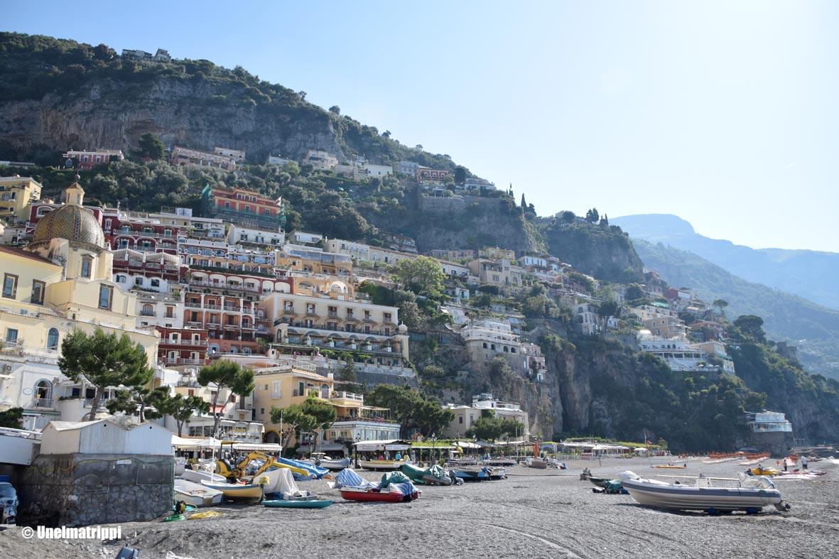 Artikkelikuva - Positanon rantaa