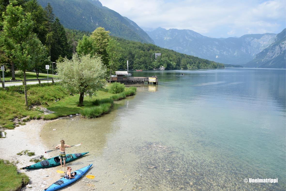 Artikkelikuva - Bohinj-järven maisemia Sloveniassa