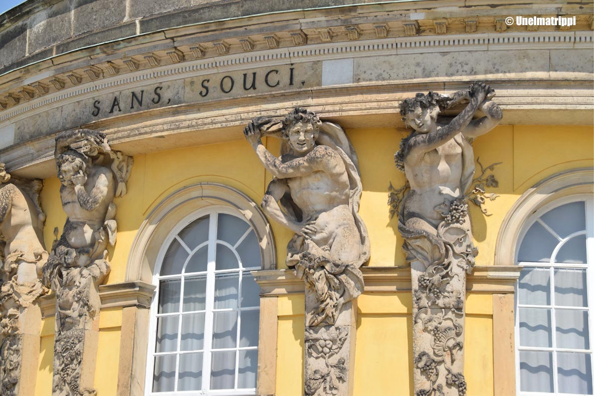 Artikkelikuva - Sanssoucin palatsi
