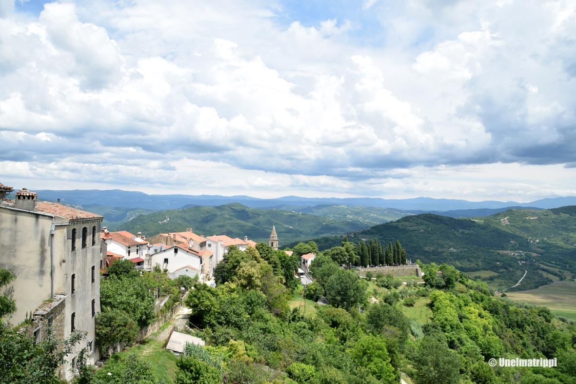 Istrian pikkukaupungit: Motovun