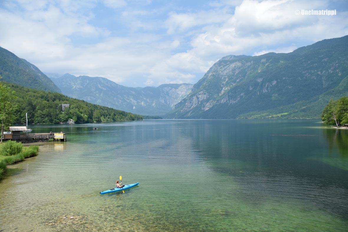 Artikkelikuva - Bohinj-järvi, Slovenia, meloja