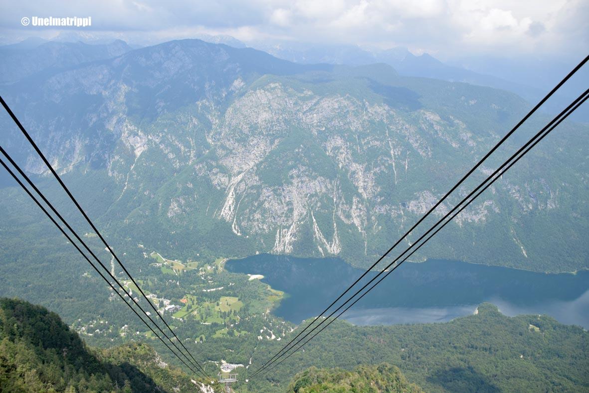Vogel-vuorella hakemassa lintuperspektiiviä