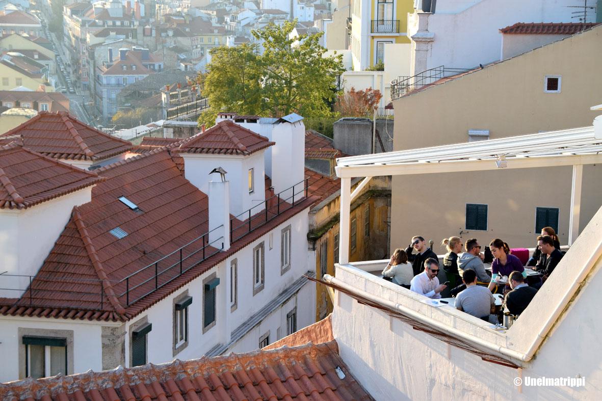 Artikkelikuva - Miradouro de Santa Catarina, Lissabon