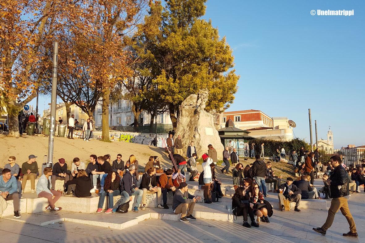Vetelehtien Lissabonissa