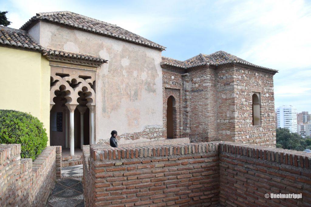 Alcazaba-linnoitus, Málaga, Espanja