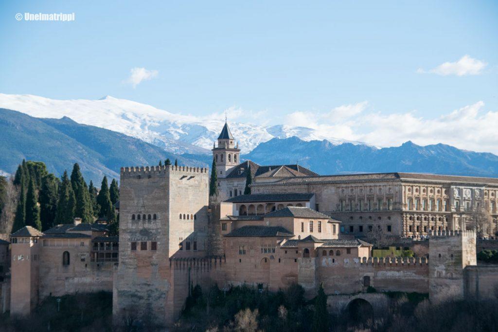 Artikkelikuva - Alhambra, Granada, Espanja