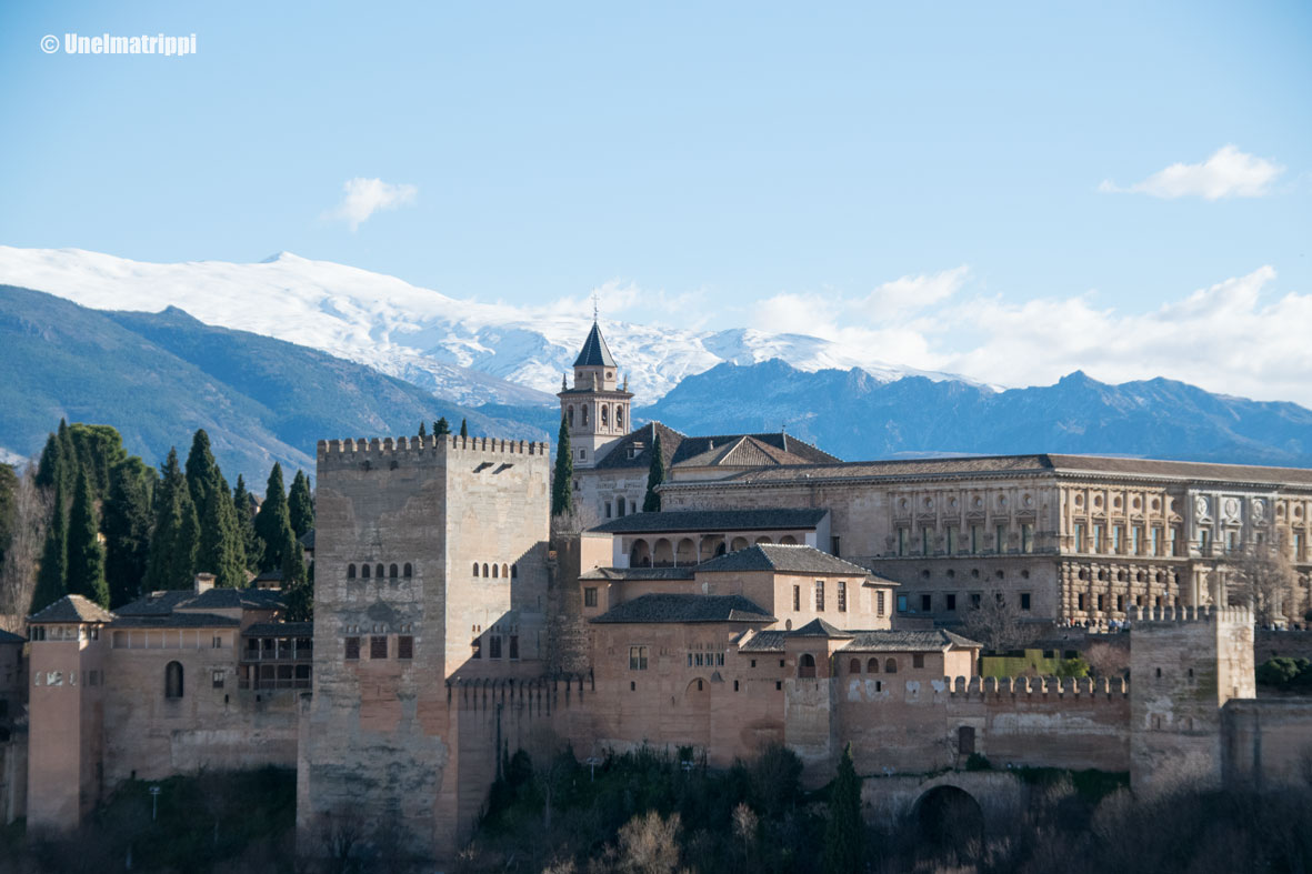 Alhambra, Granada, Espanja