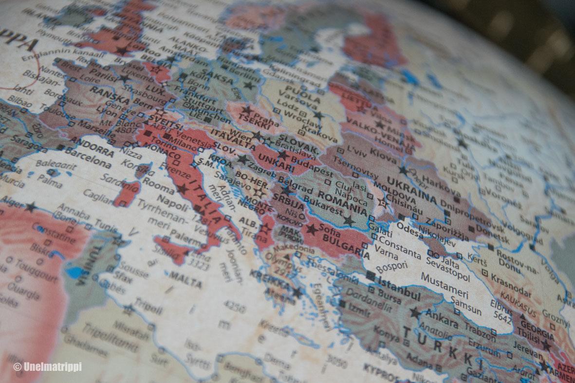 Autolla Euroopassa Reittisuunnitelma Balkanille Unelmatrippi
