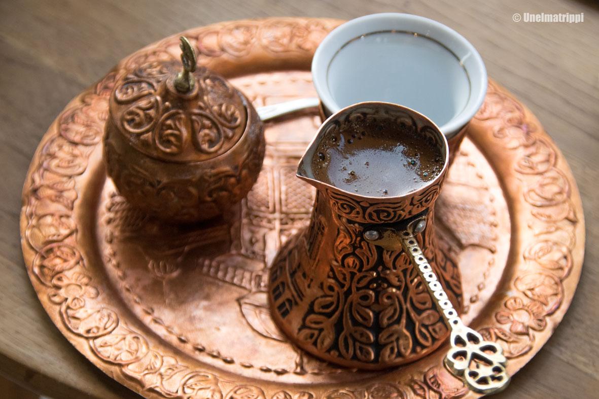 Bosnialaista kahvia Sarajevossa