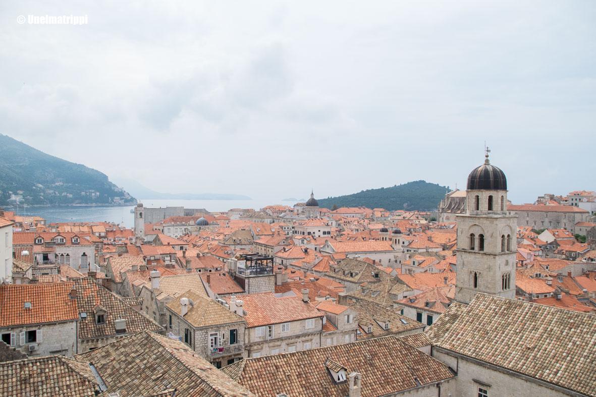Dubrovnikin kaupunginmuurilla