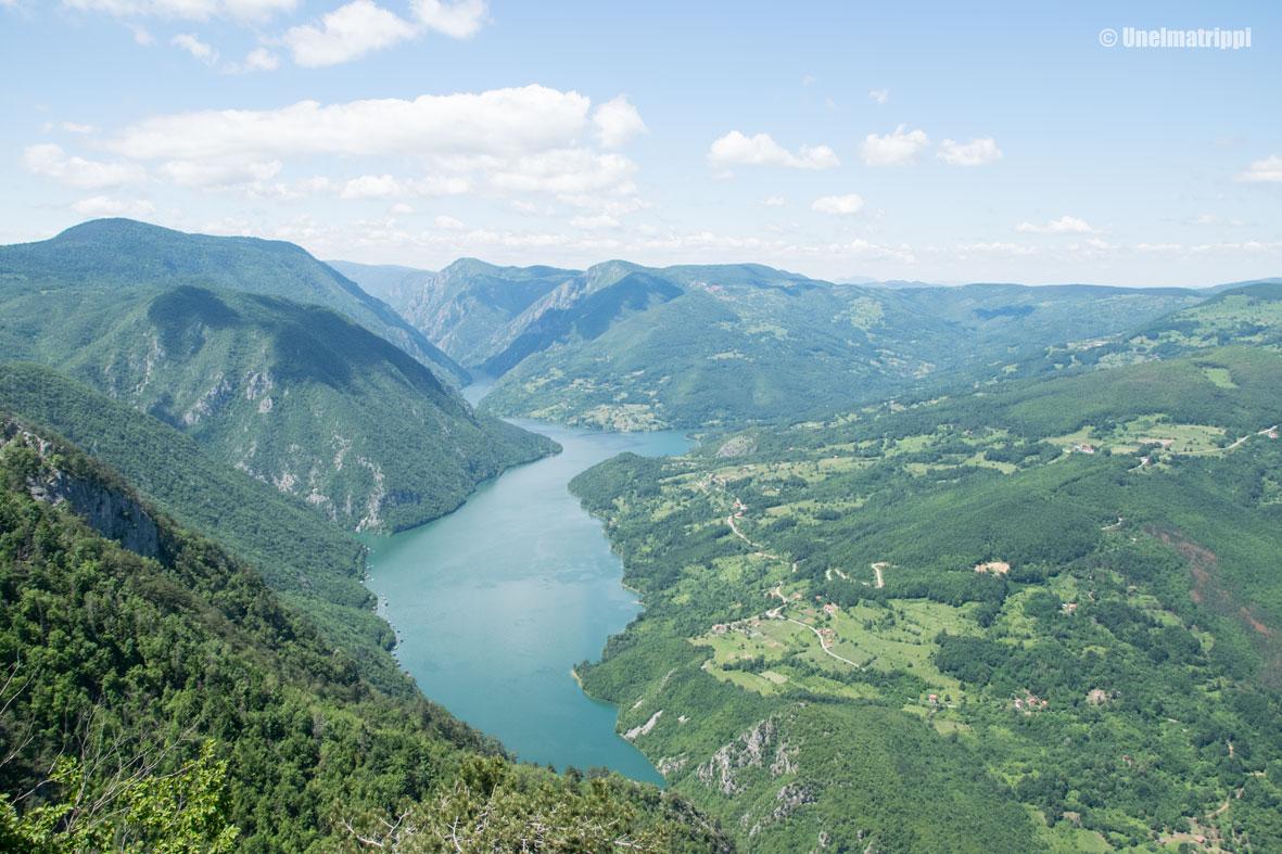 Merkintöjä matkan varrelta: Bajina Bašta, Serbia