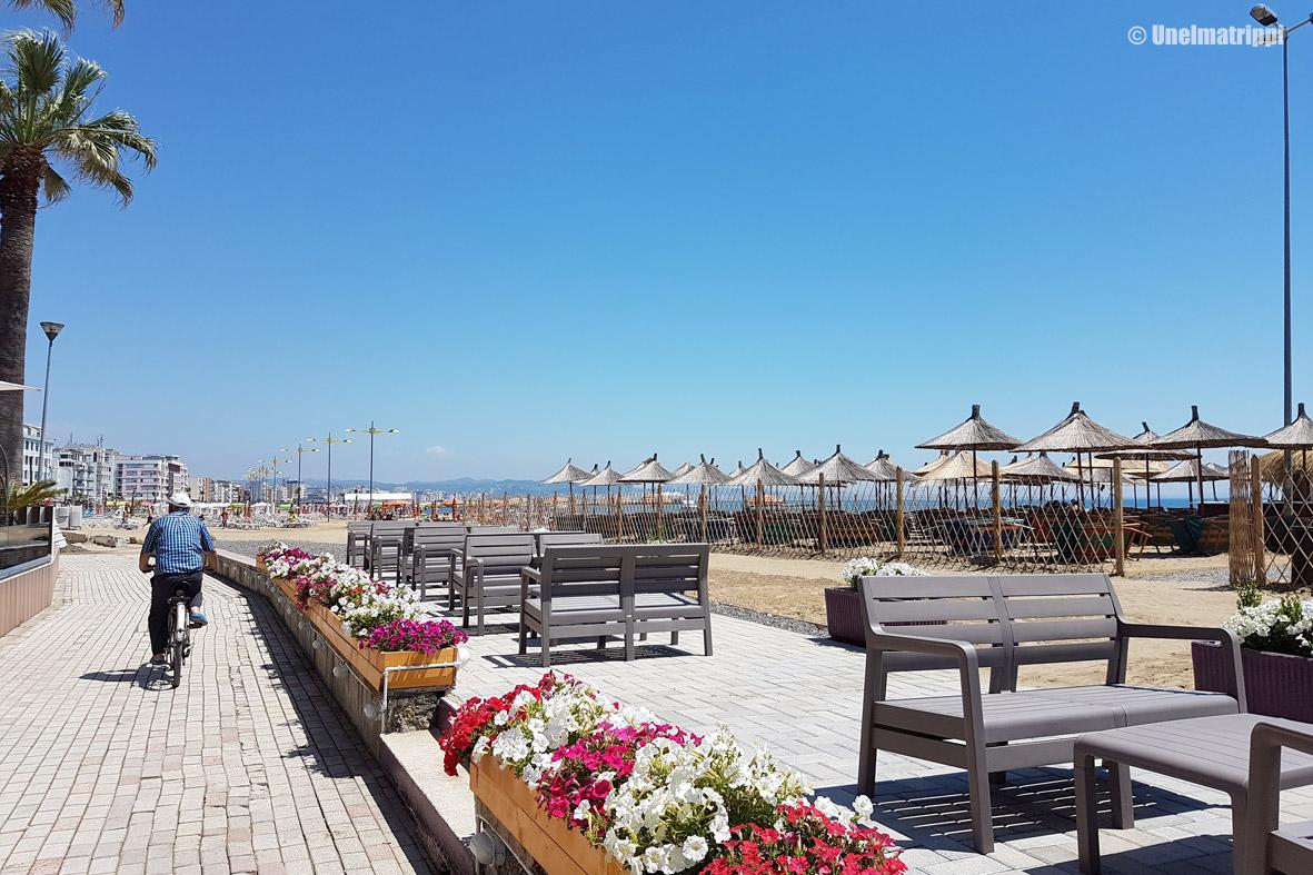 Durrës, rantabulevardi, Albania