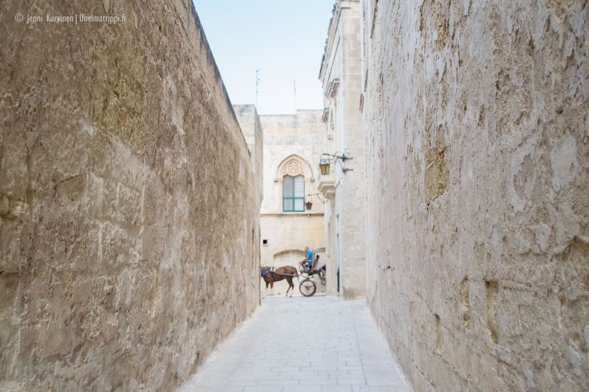 Maltan kaunein kaupunki Mdina