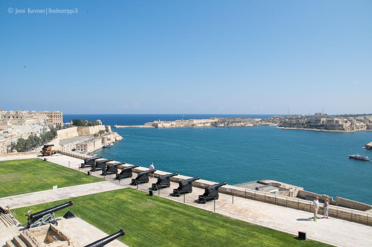 Maltan keltainen pääkaupunki Valletta