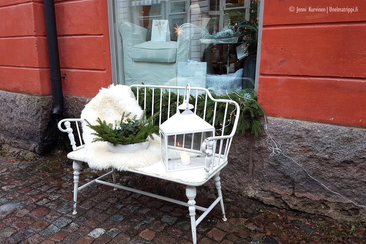 Artikkelikuva - Yksityiskohta Porvoon kujilla, Suomi