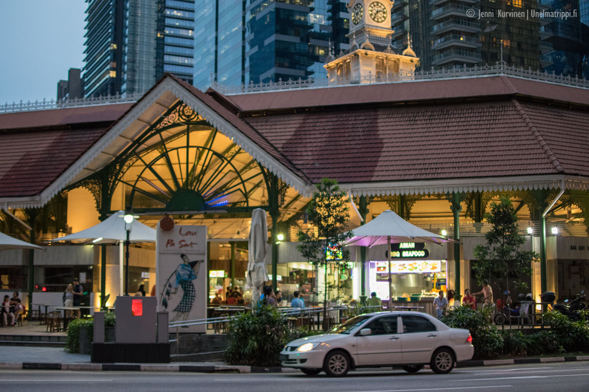 Telok Ayer Market – Singaporen komein hawker center?