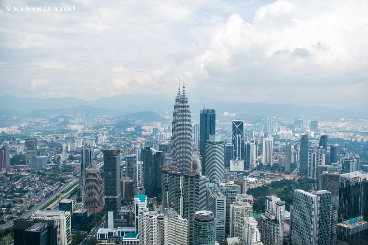 Kuala Lumpur Menara-tornista käsin, Malesia