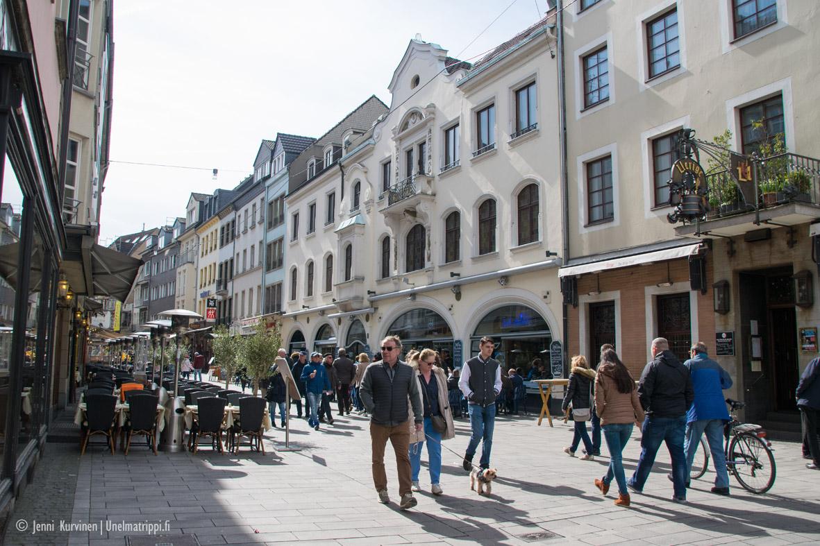Pitkä viikonloppu Düsseldorfissa