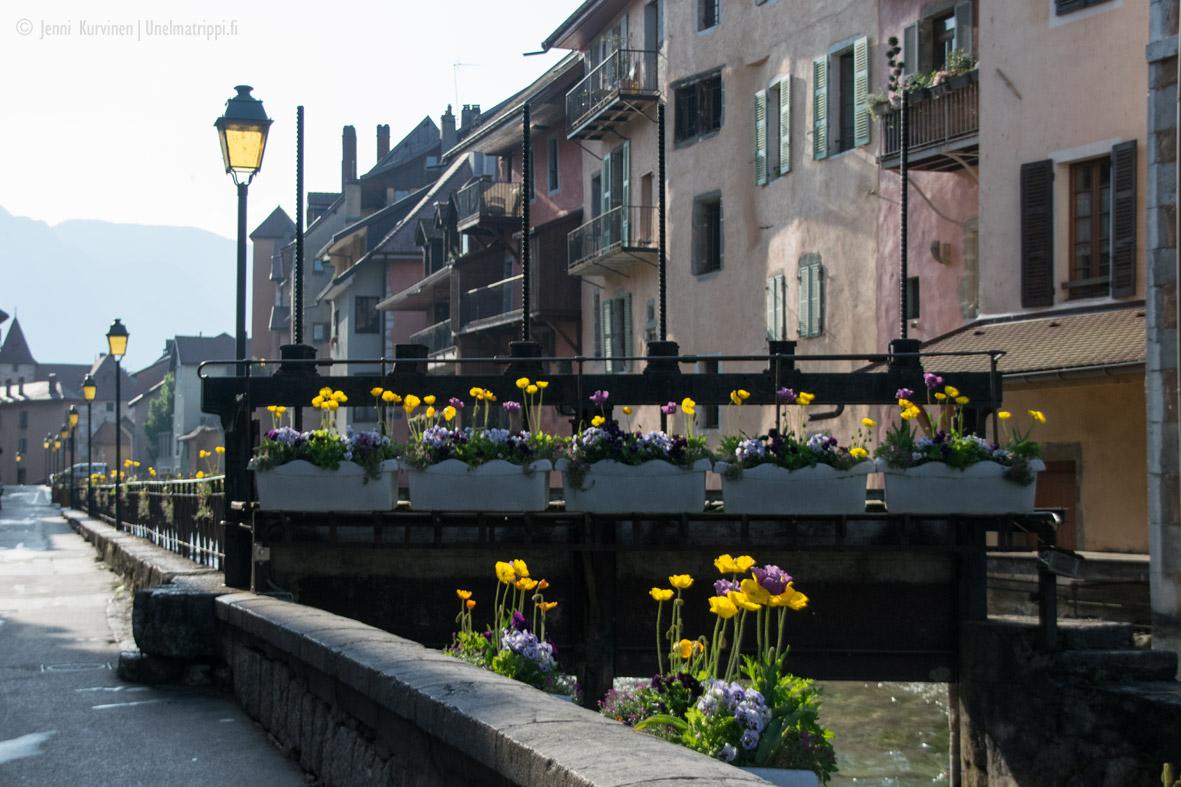 Autolla Euroopassa: romanttinen ja monipuolinen Annecy
