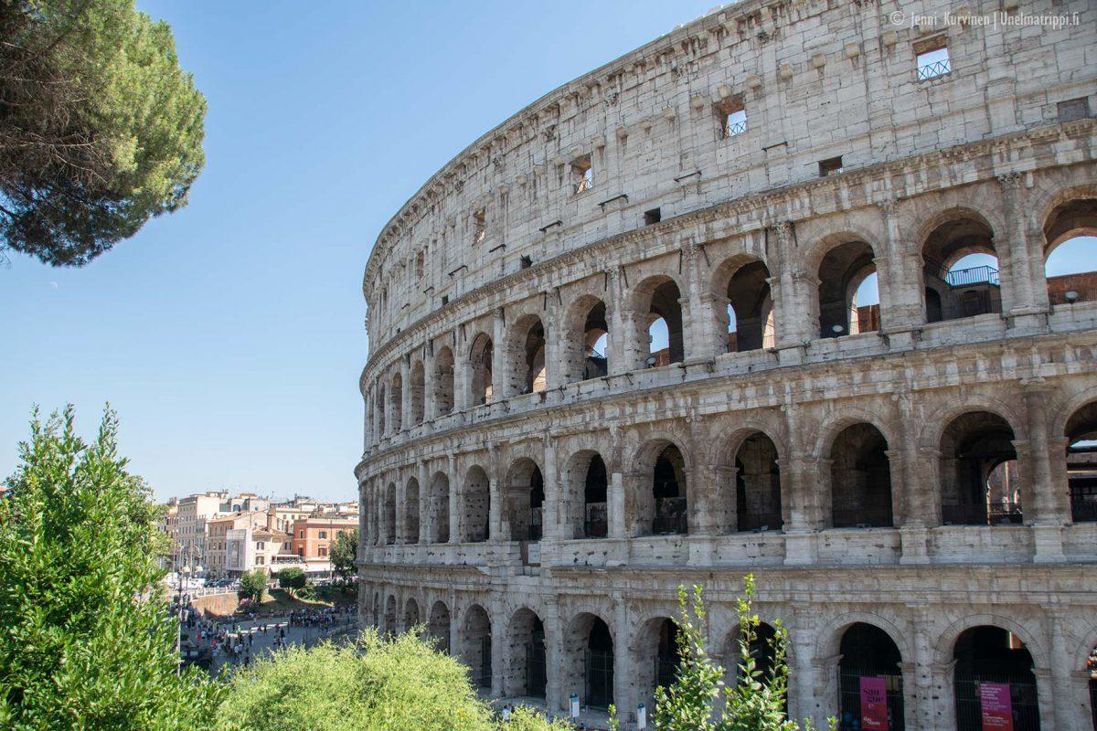 Viikonloppu Roomassa – samettiöitä, gelatoa ja kävelyä historian keskellä