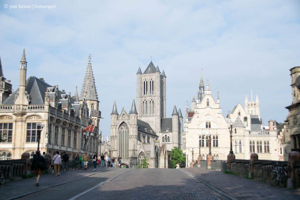 Synkkyydessään upea Gent