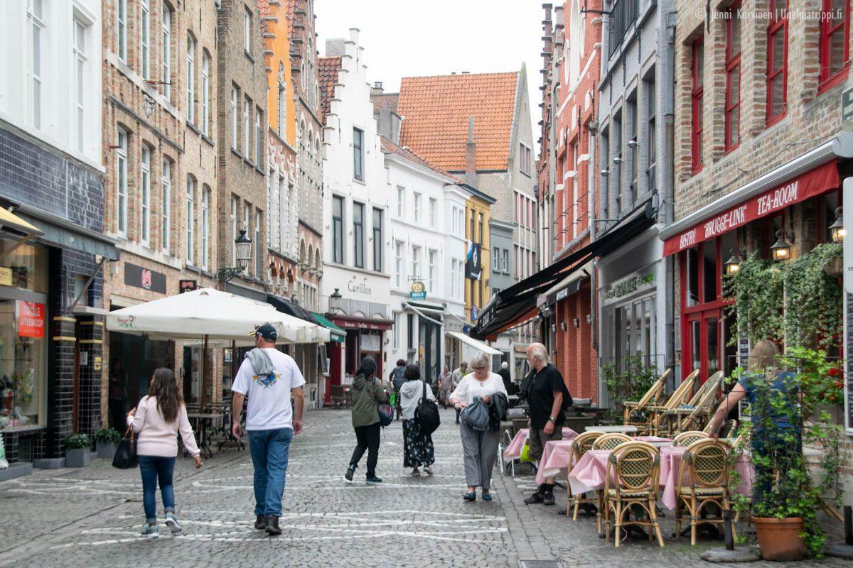 Kävelyllä romanttisessa Bruggessa